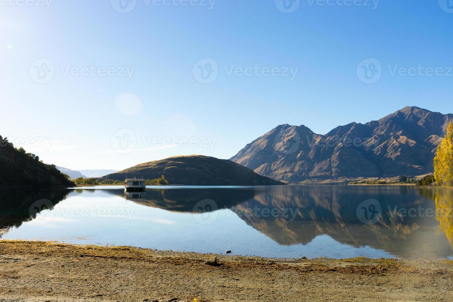 Picturesque landscape photo