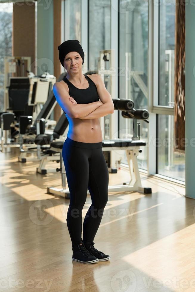 Portrait Of A Physically Fit Young Woman photo