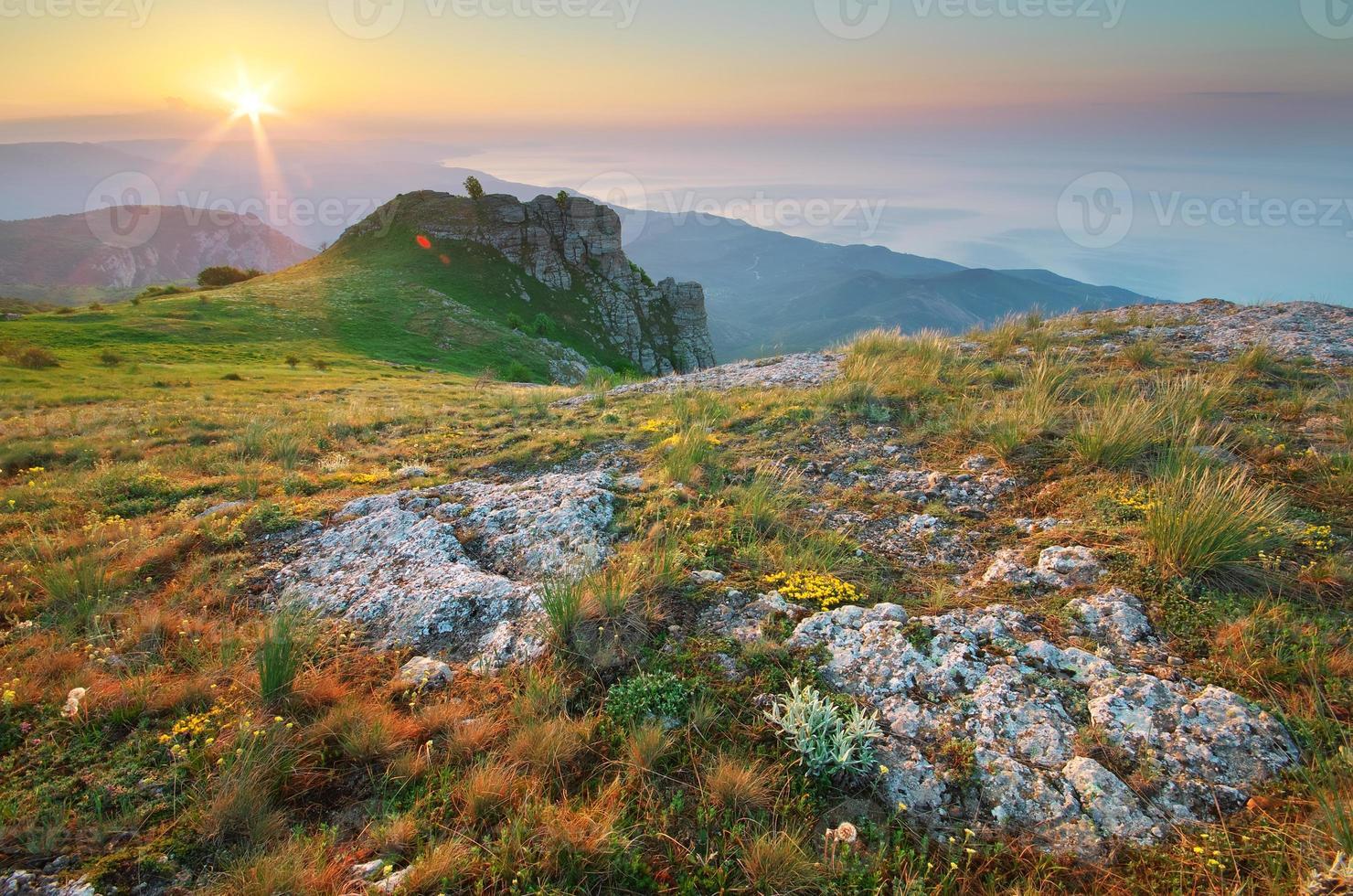 Mountain landscape. photo