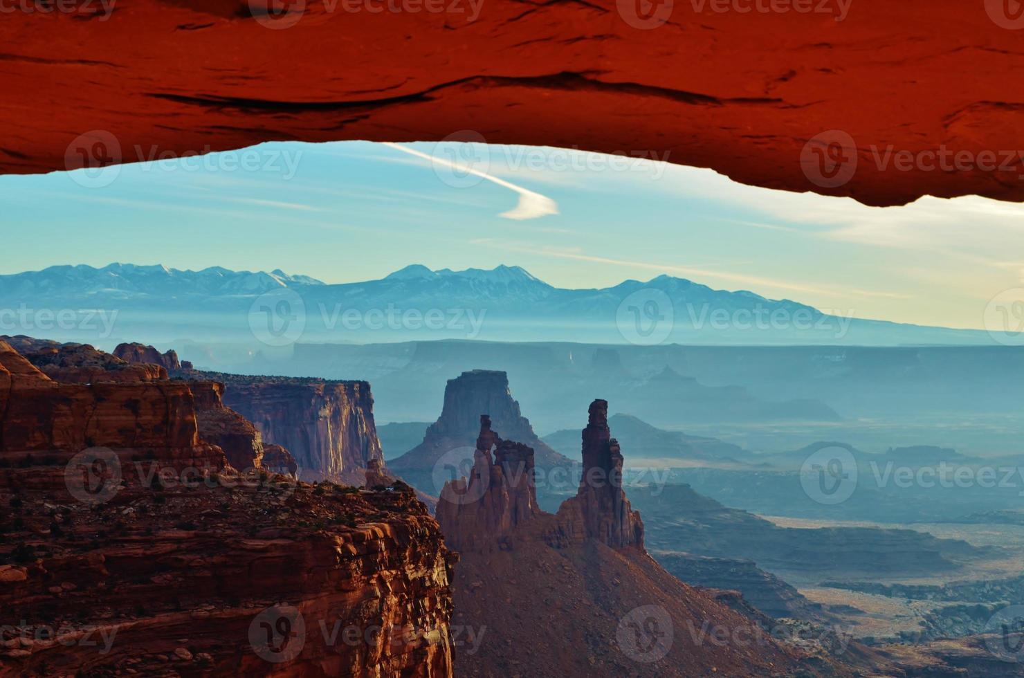 paisaje del desierto suroeste foto