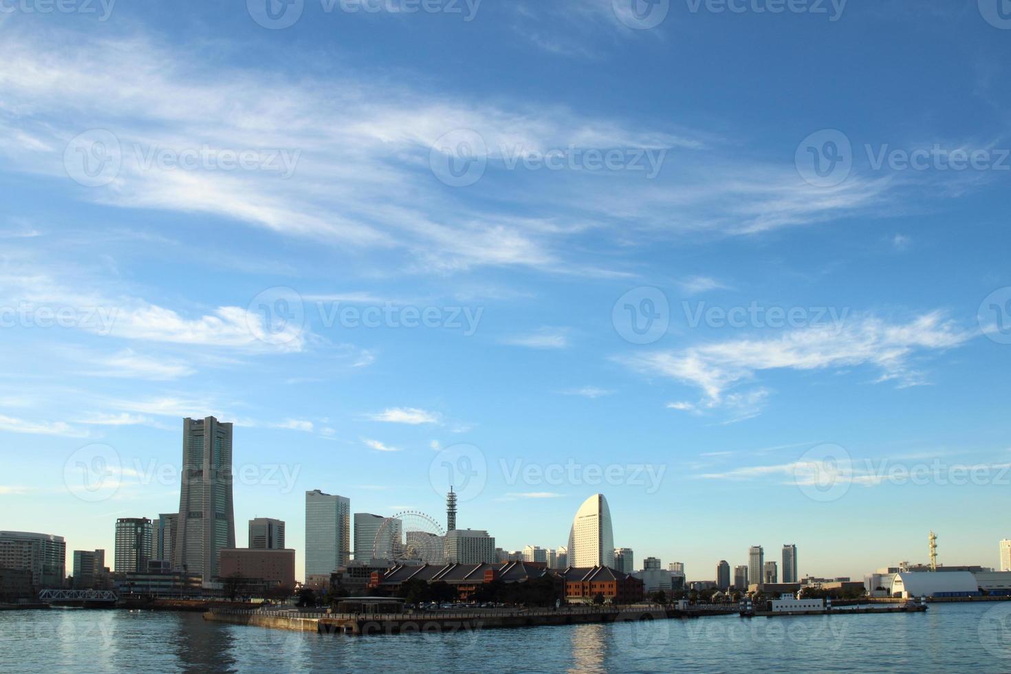Japan landscape at Yokohama city photo