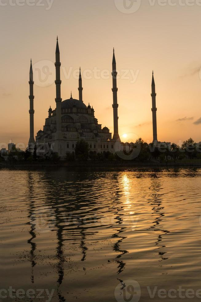 Sabanci Mosque, Adana, Turkey photo