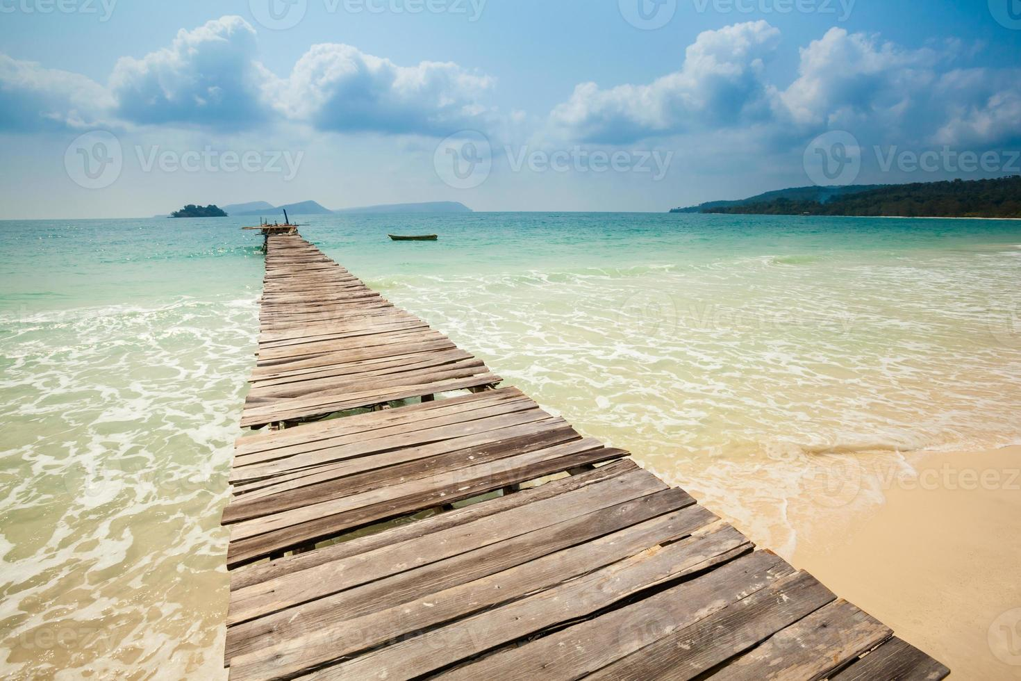 Tropical landscape of Koh Rong photo