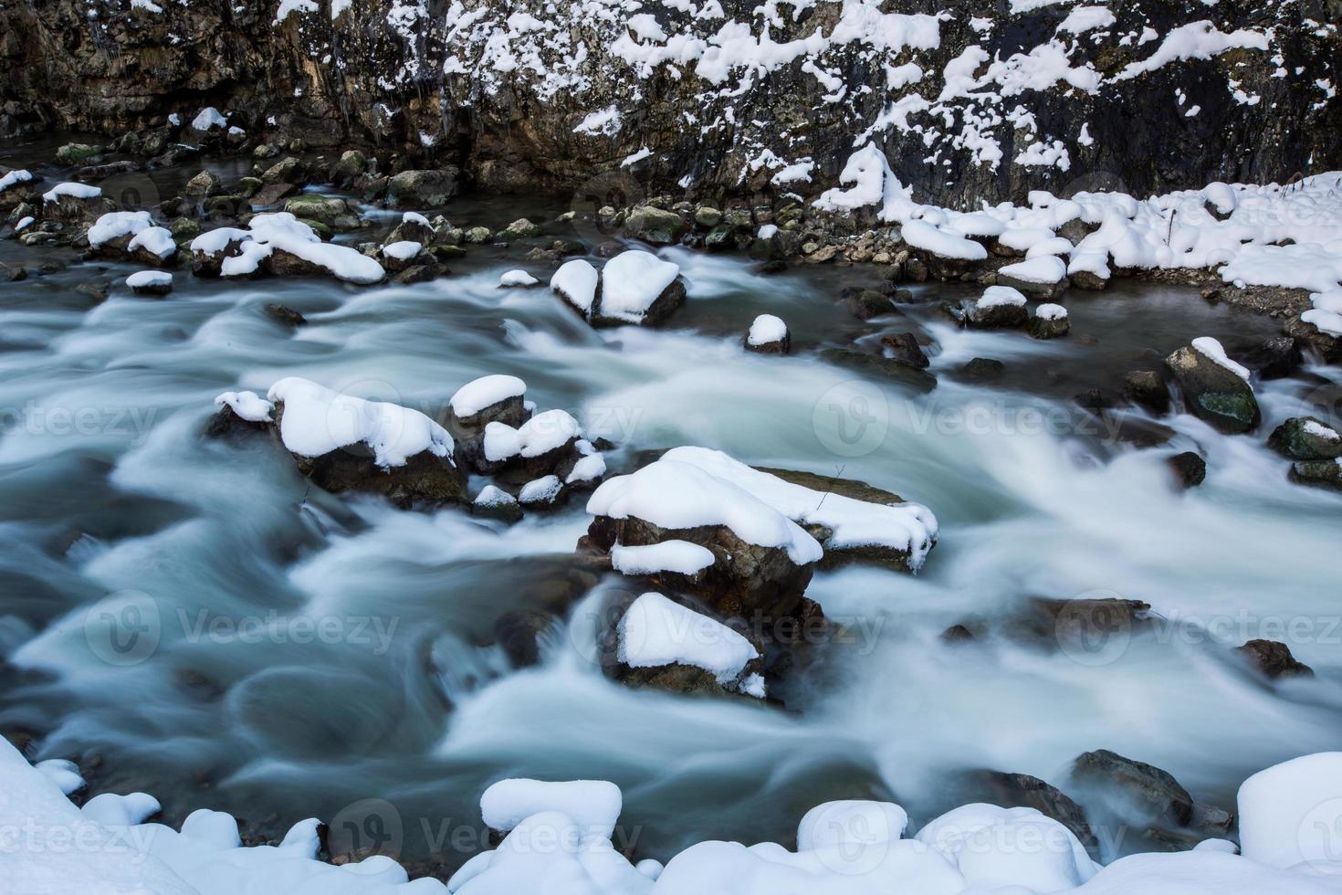 escena de invierno foto