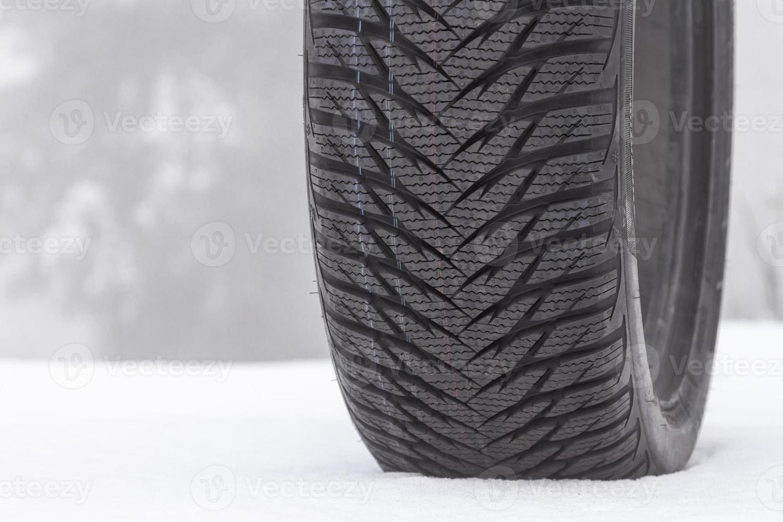 Winter tire photo