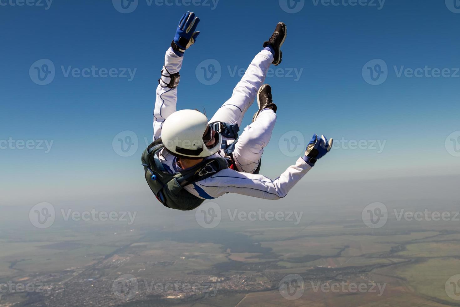 Foto de paracaidismo.