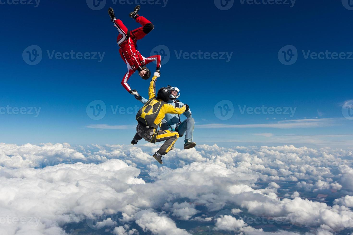Skydiving photo. photo