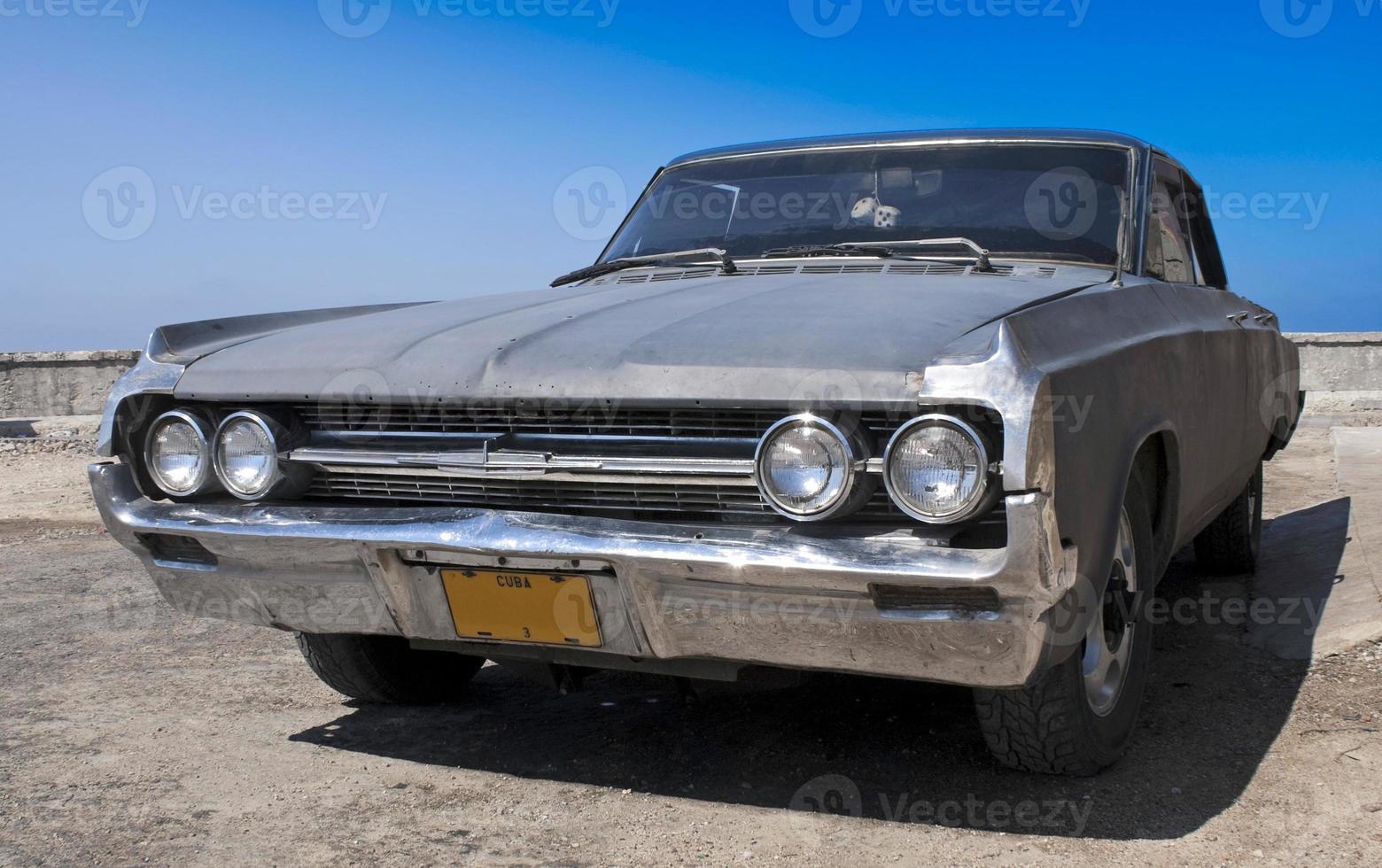 Old car at Havana photo