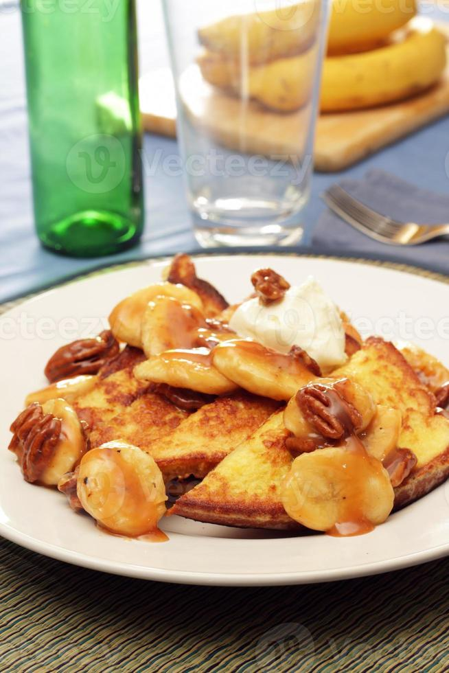 Bananas Foster French Toast photo