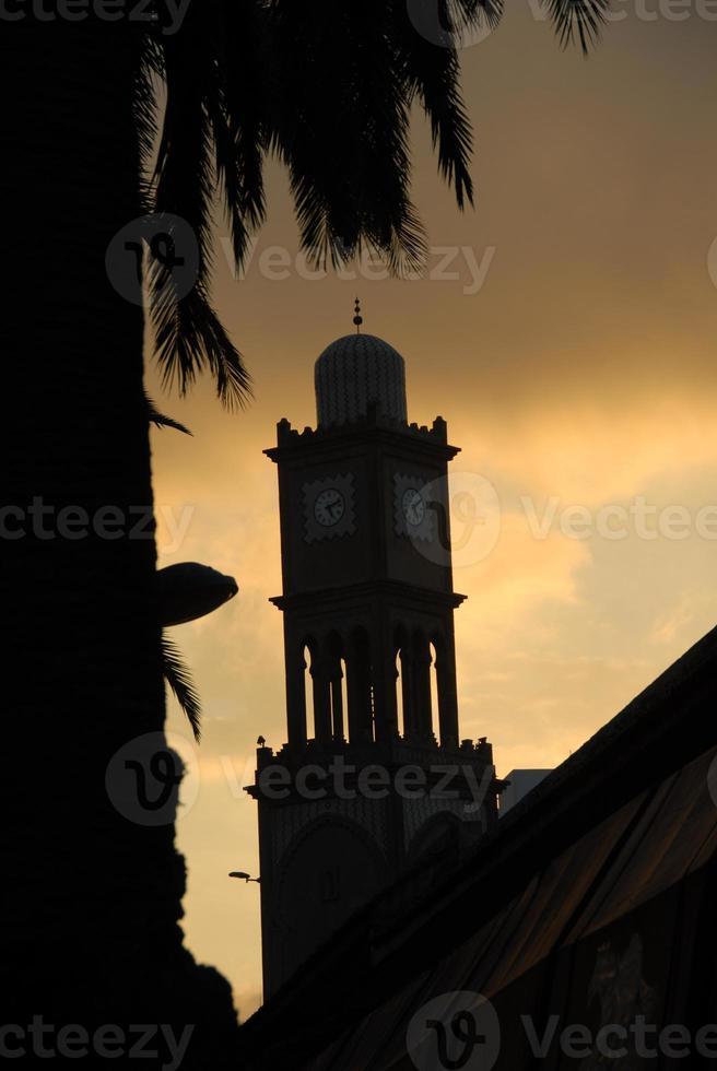 moschee en casablanca - marokko foto