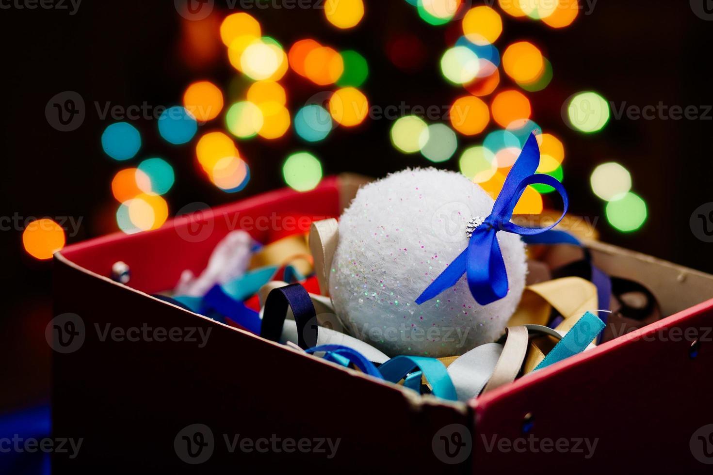 Winter holiday background photo