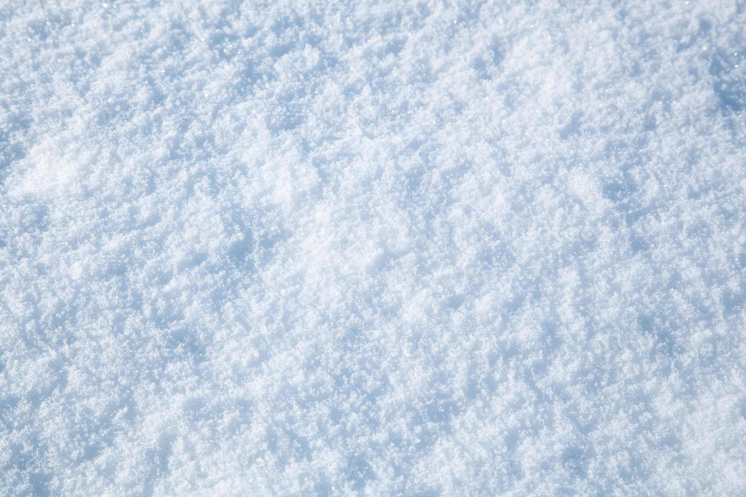 abstract winter snow background photo
