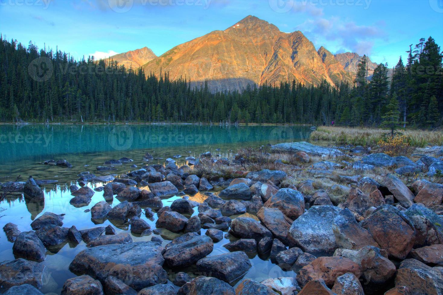 Cavell lake photo