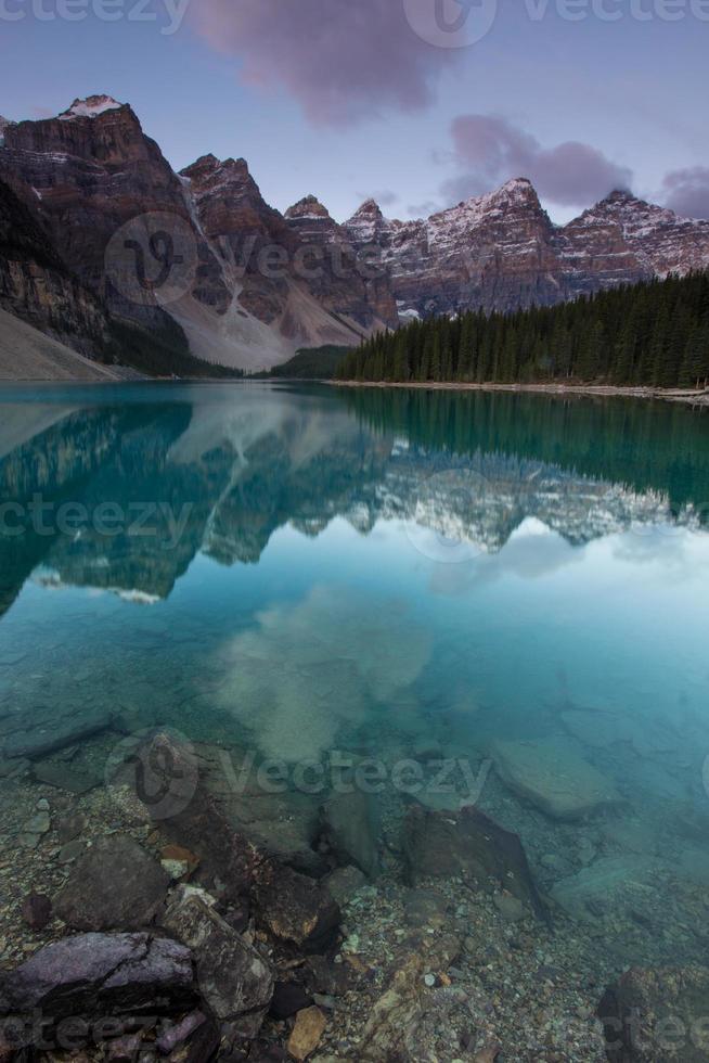 lago moraine foto