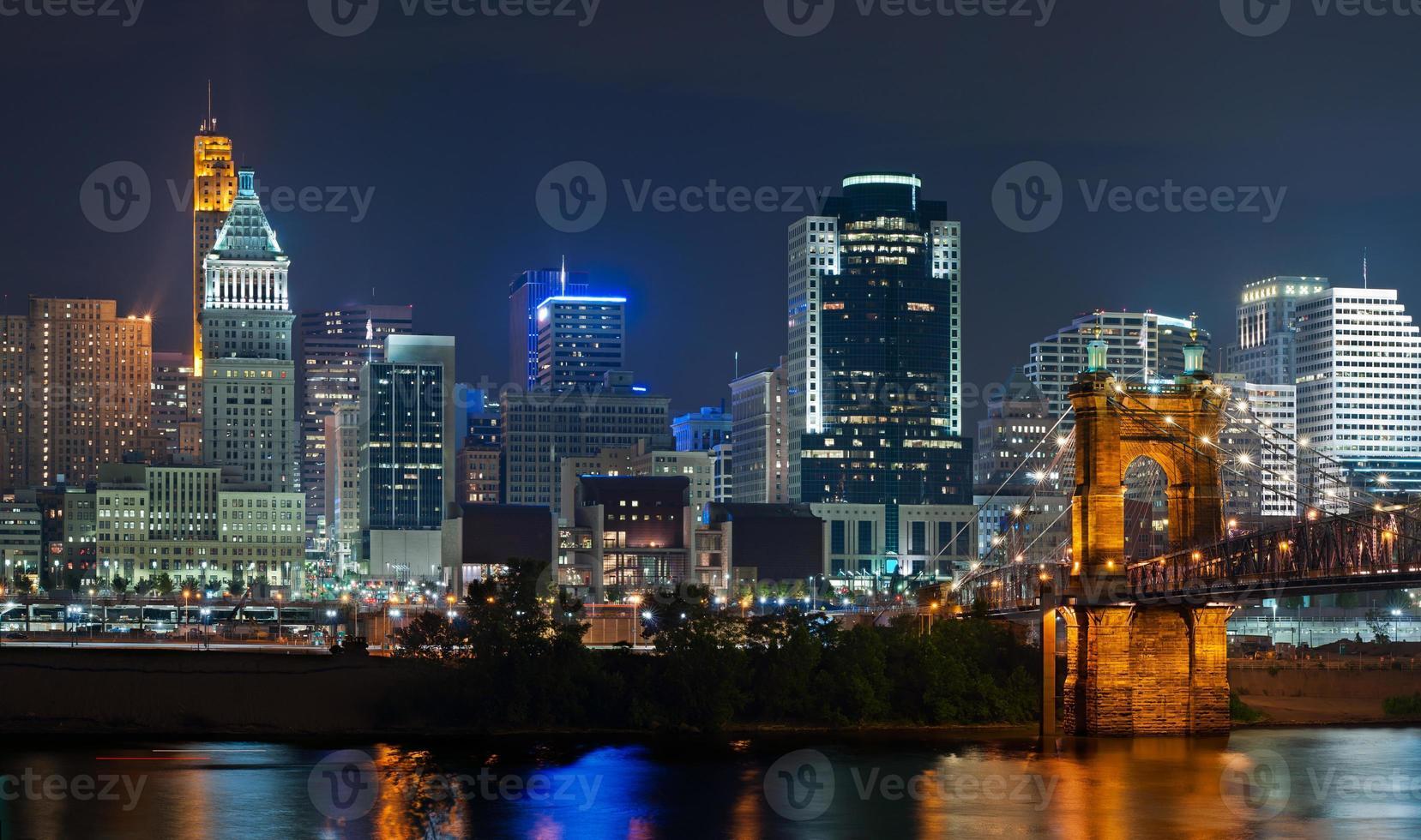 Cincinnati skyline. photo