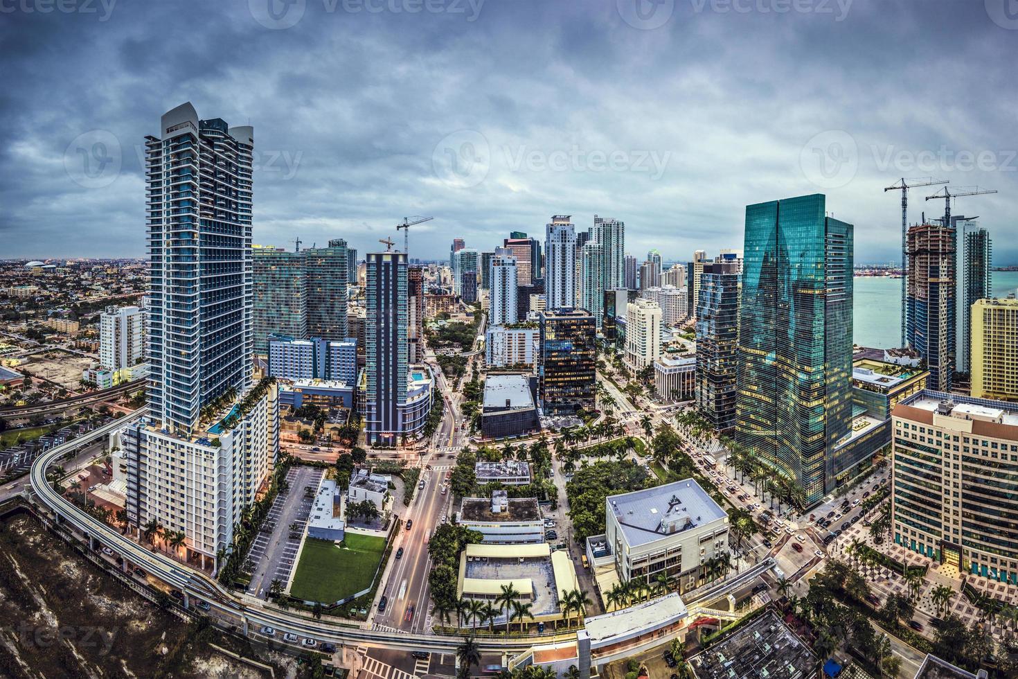 Miami Skyline photo