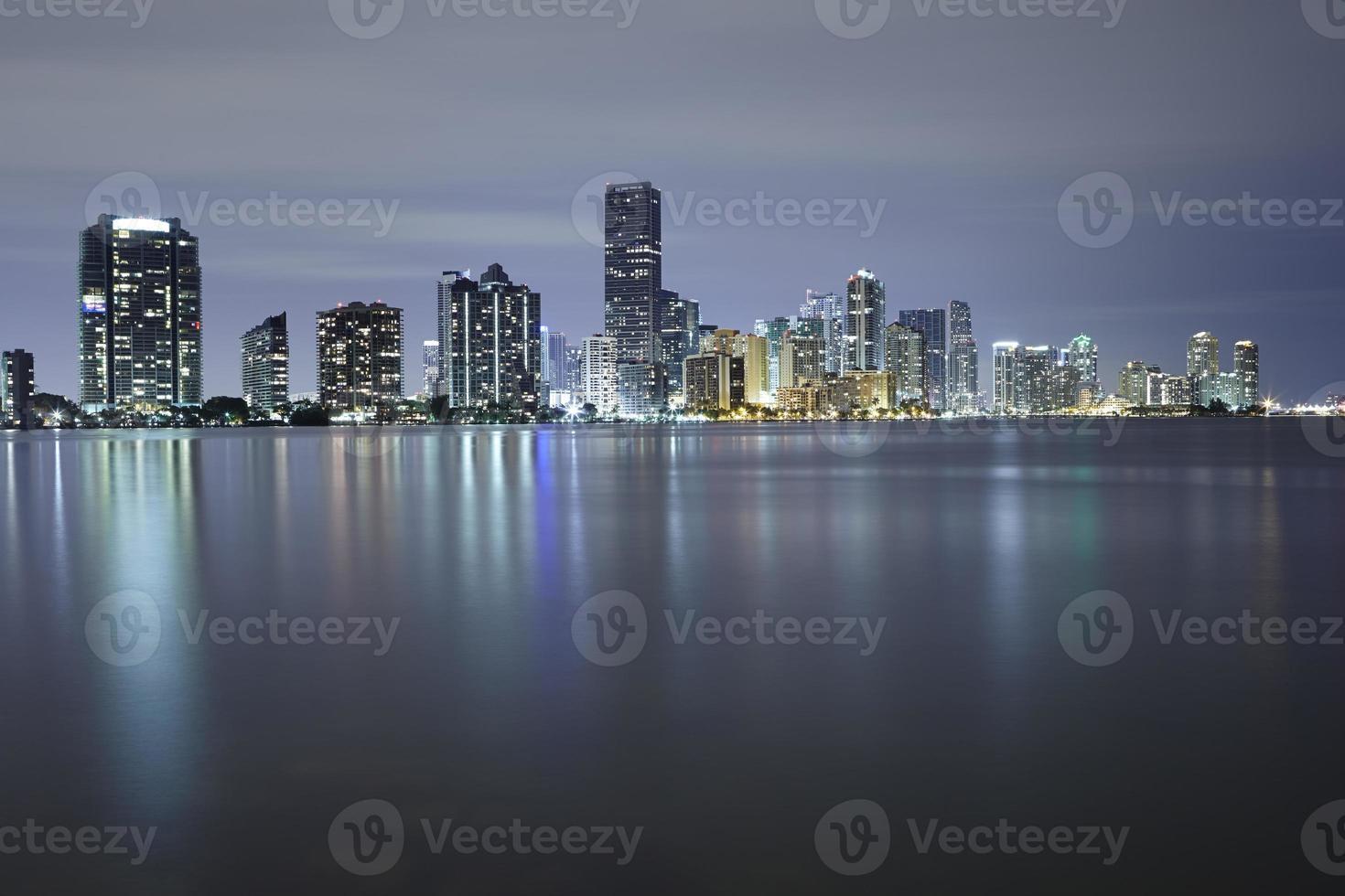 Miami city skyline photo