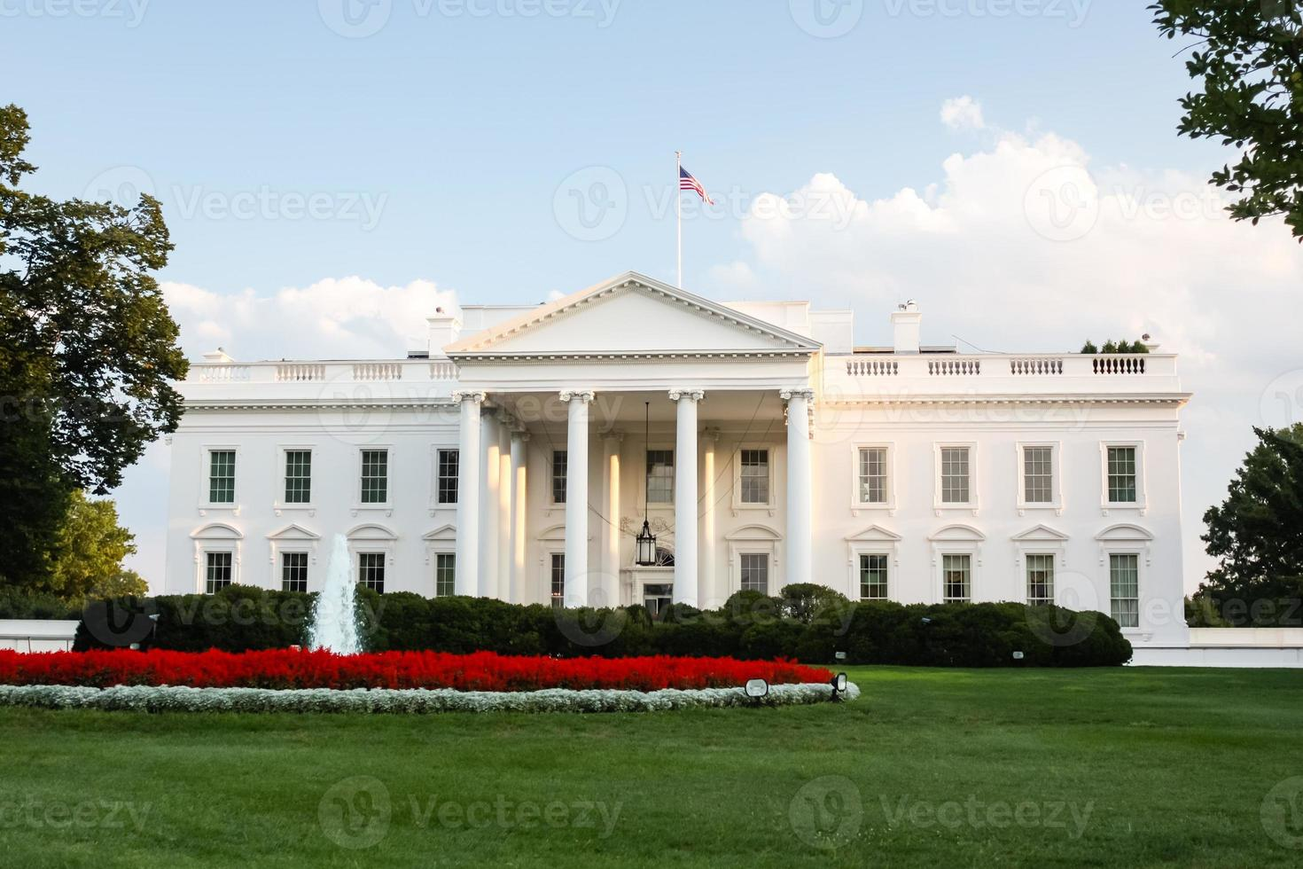 casa blanca en washington, dc foto