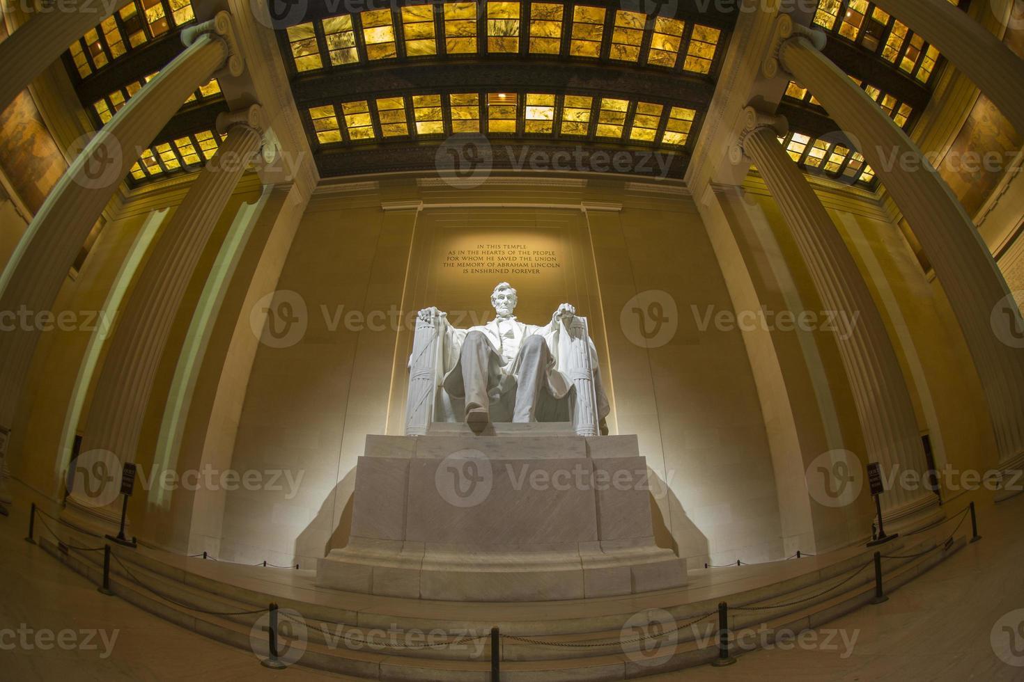 Abraham Lincoln memorial photo