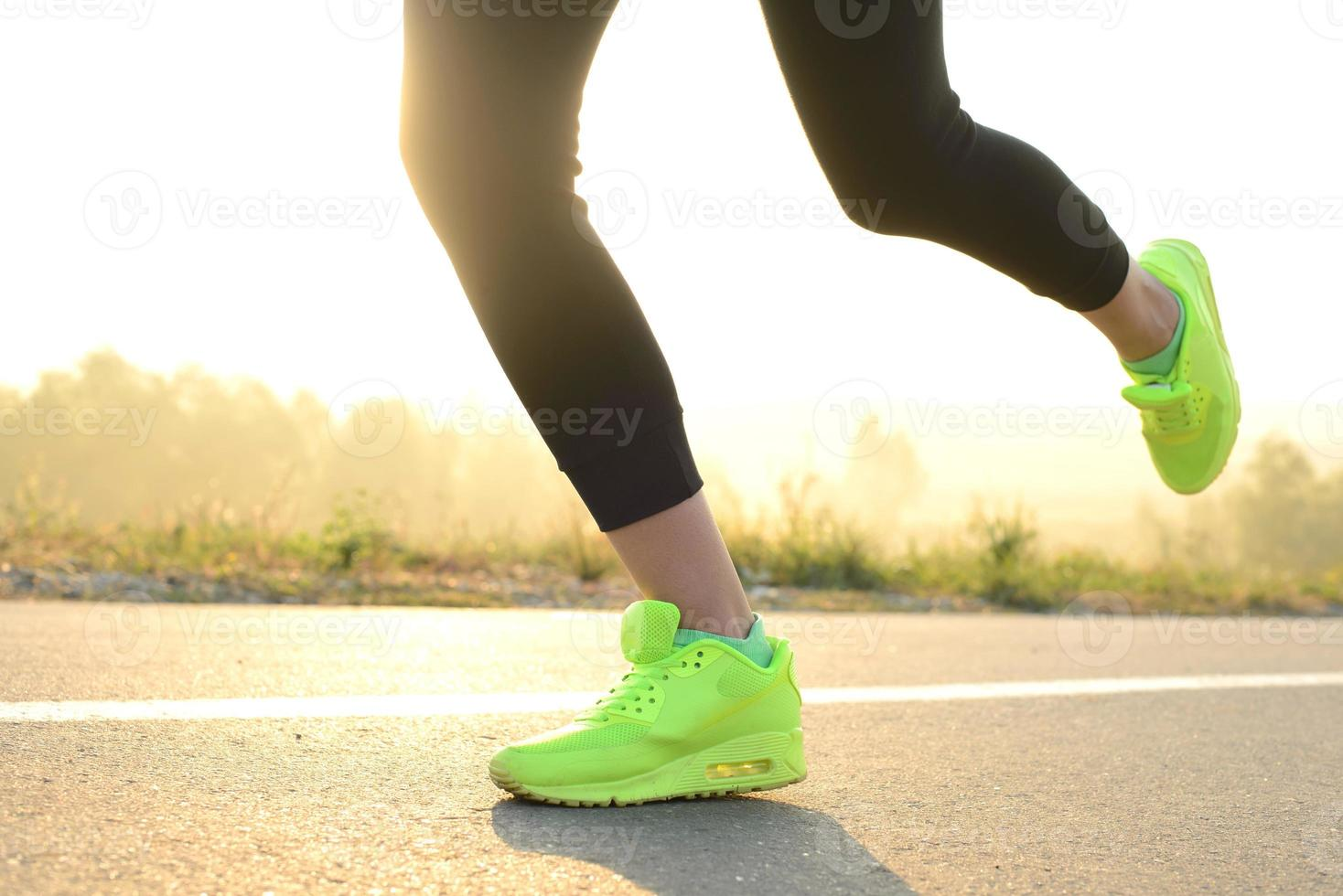 Morning running photo