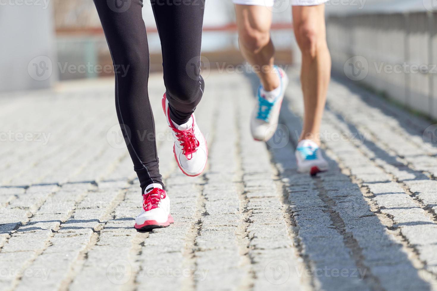 Urban running photo