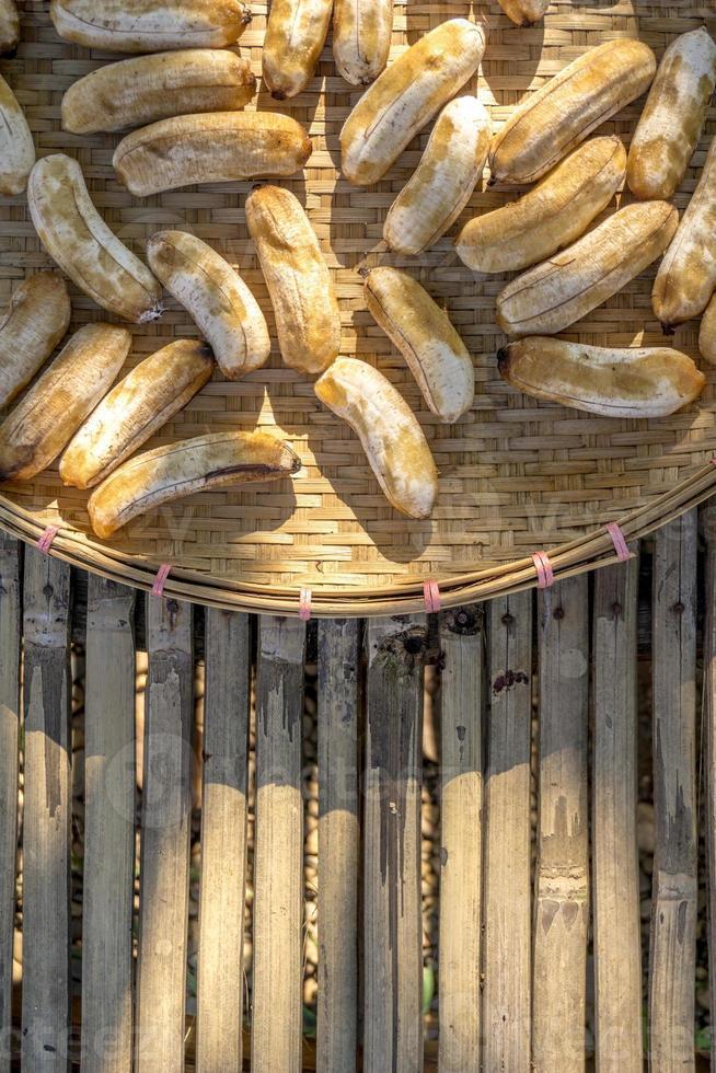 Sun dried banana photo