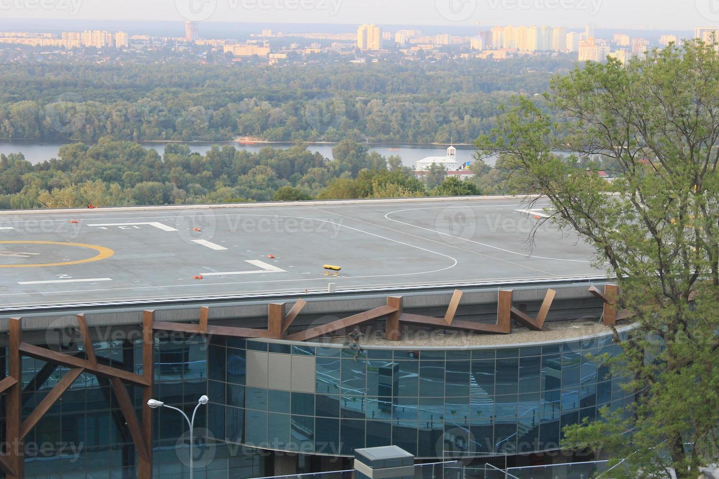 paisaje urbano de kiev foto