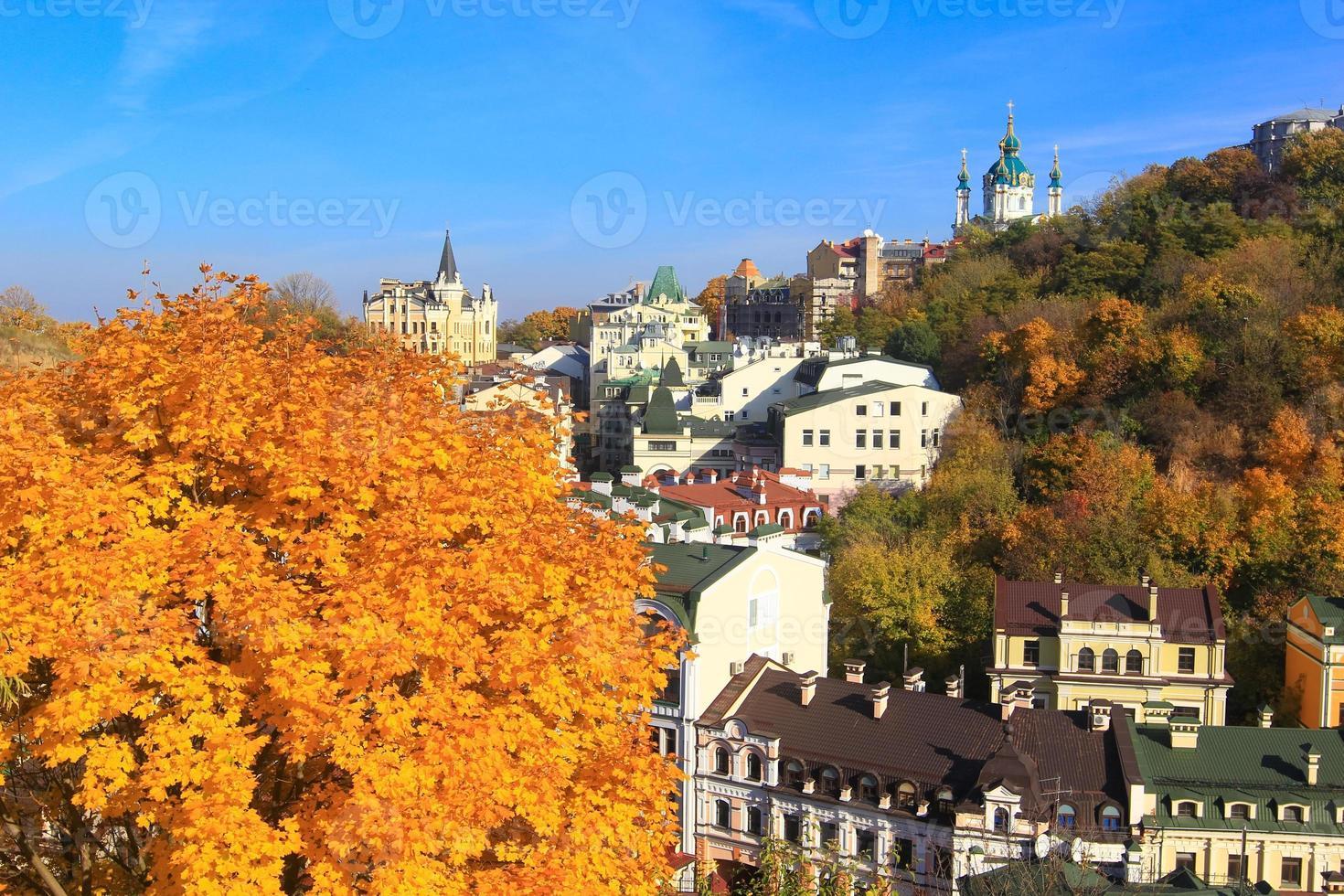 otoño en kiev, ucrania foto