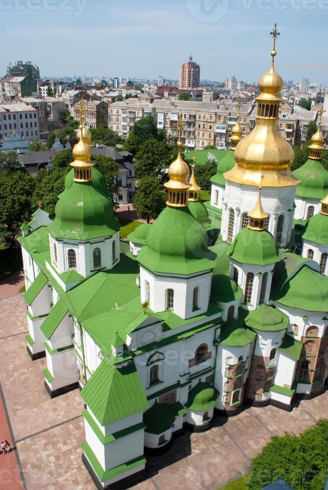 Santa Sofía en Kiev Ucrania foto