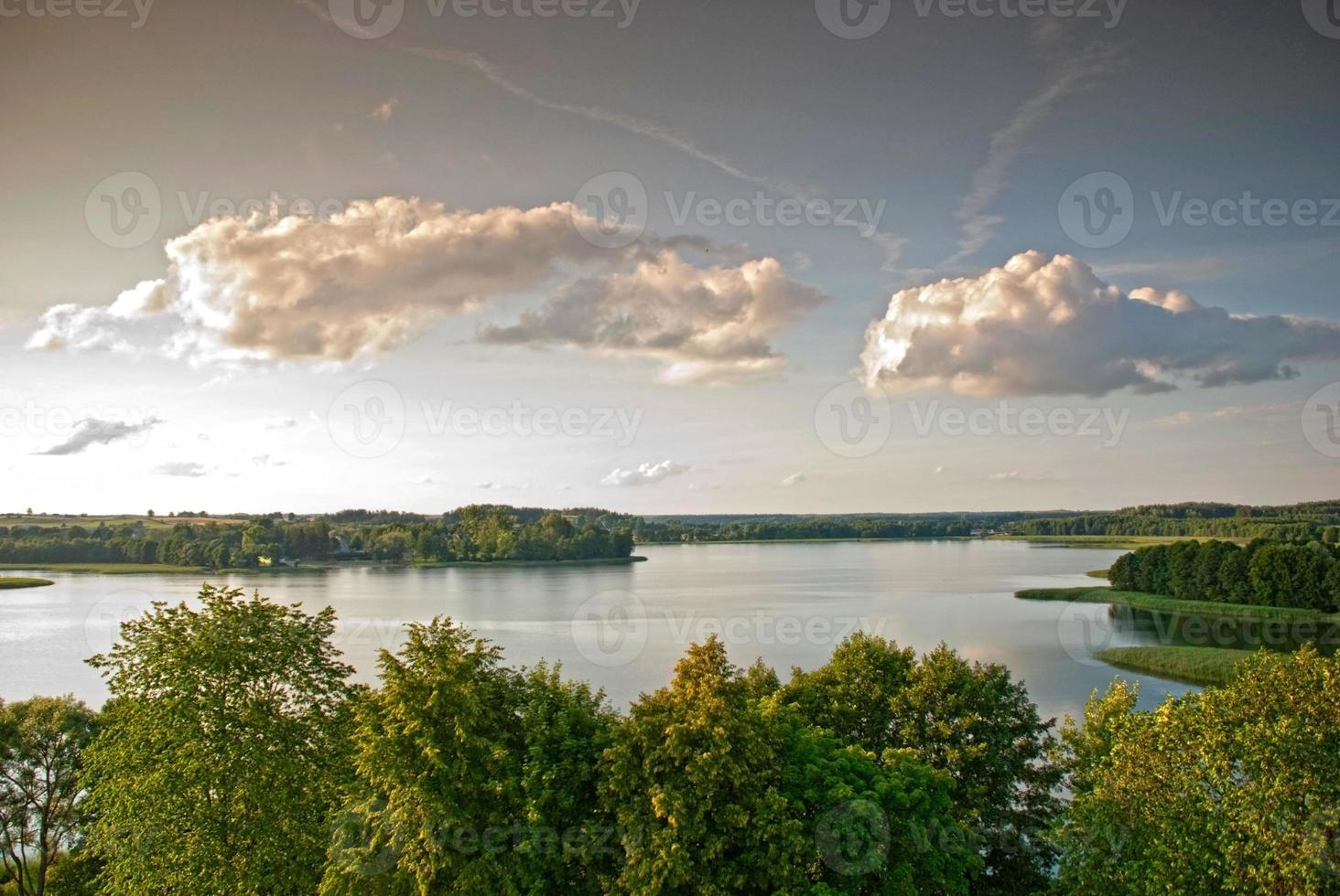 Lago Wigry. Polonia foto