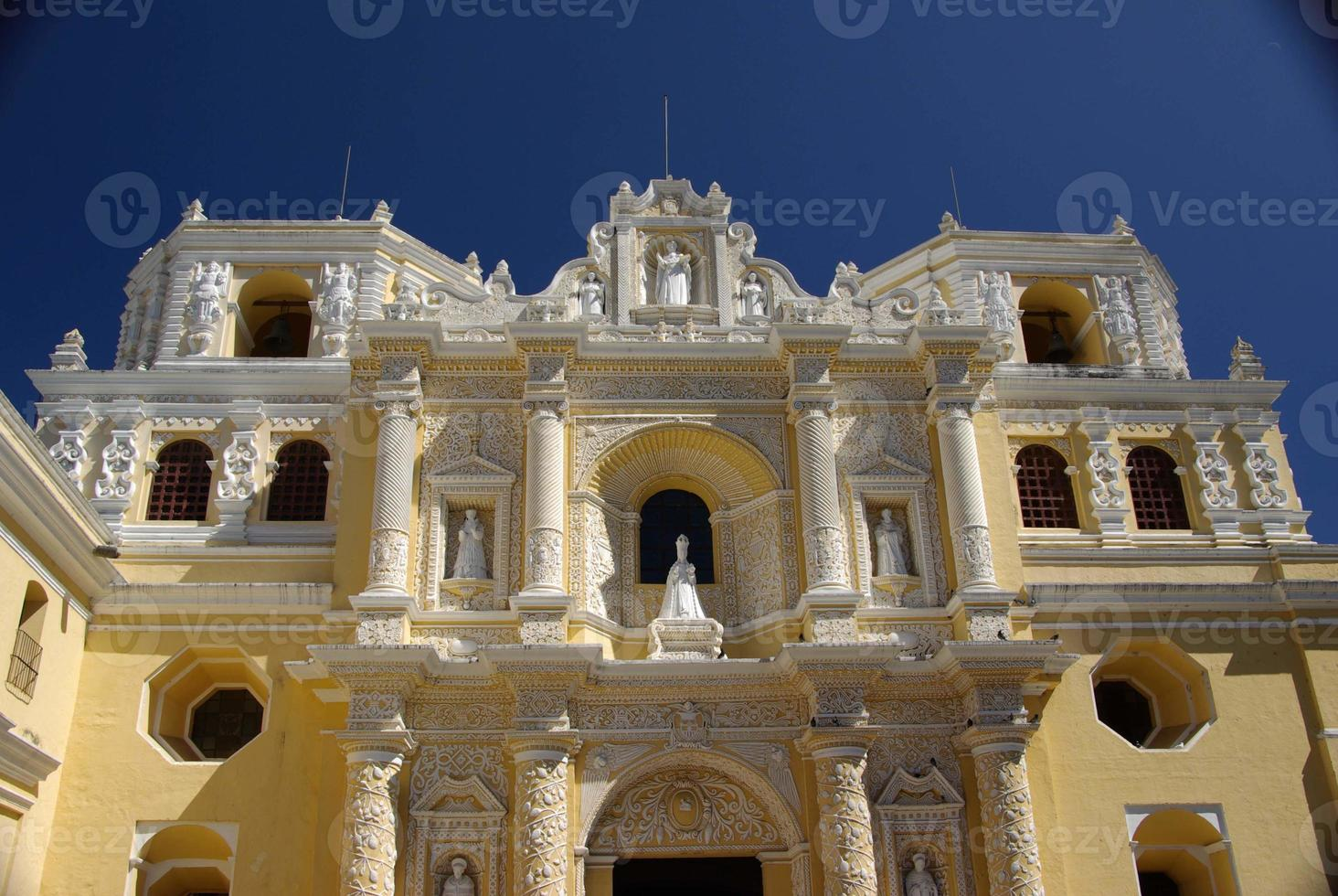 Church in Antigua, Guatemala photo