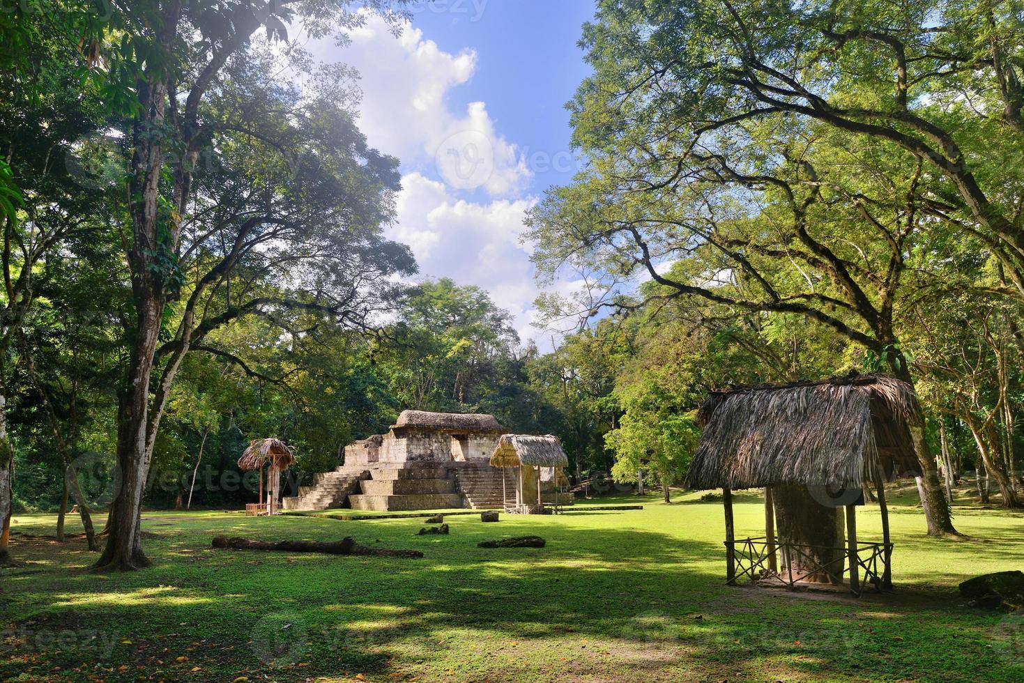 Pyramid Archaeological Park Cebal in Guatemala photo