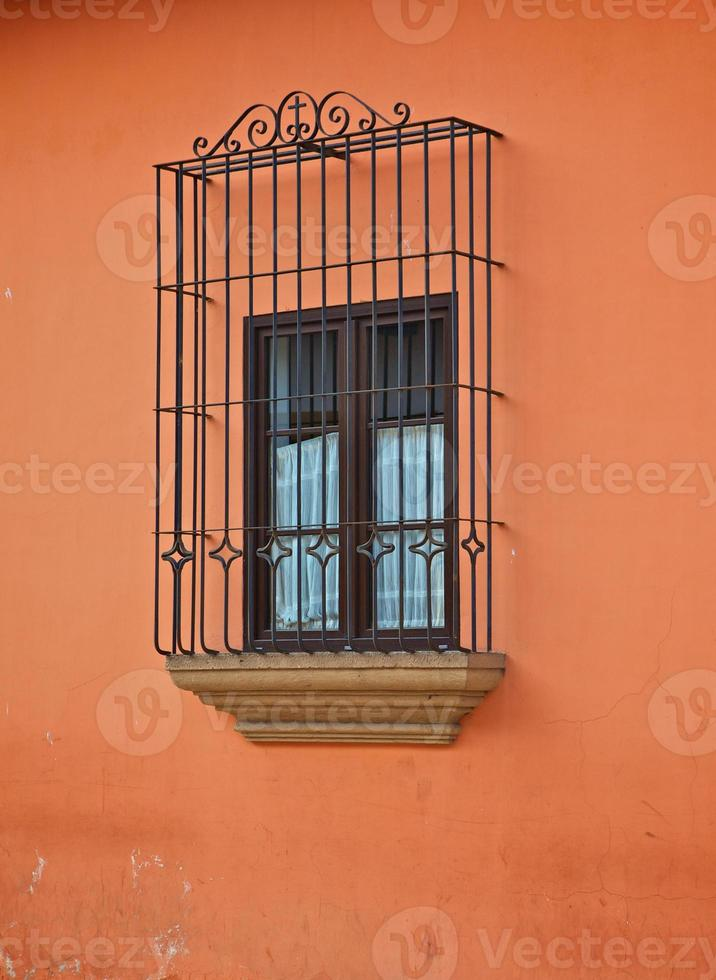 Spanish Fenced Window photo