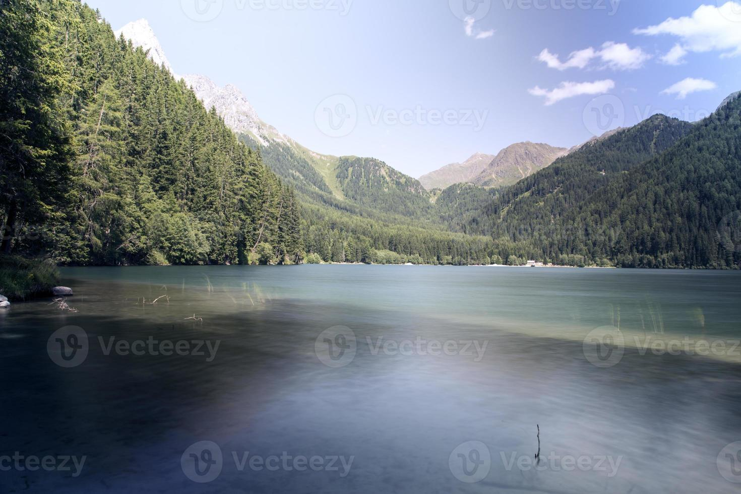 Anterselva Lake panorama photo