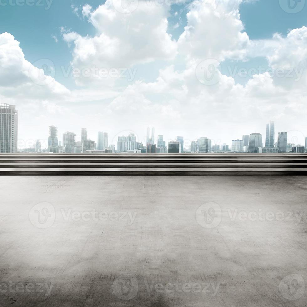 Jakarta city background square photo