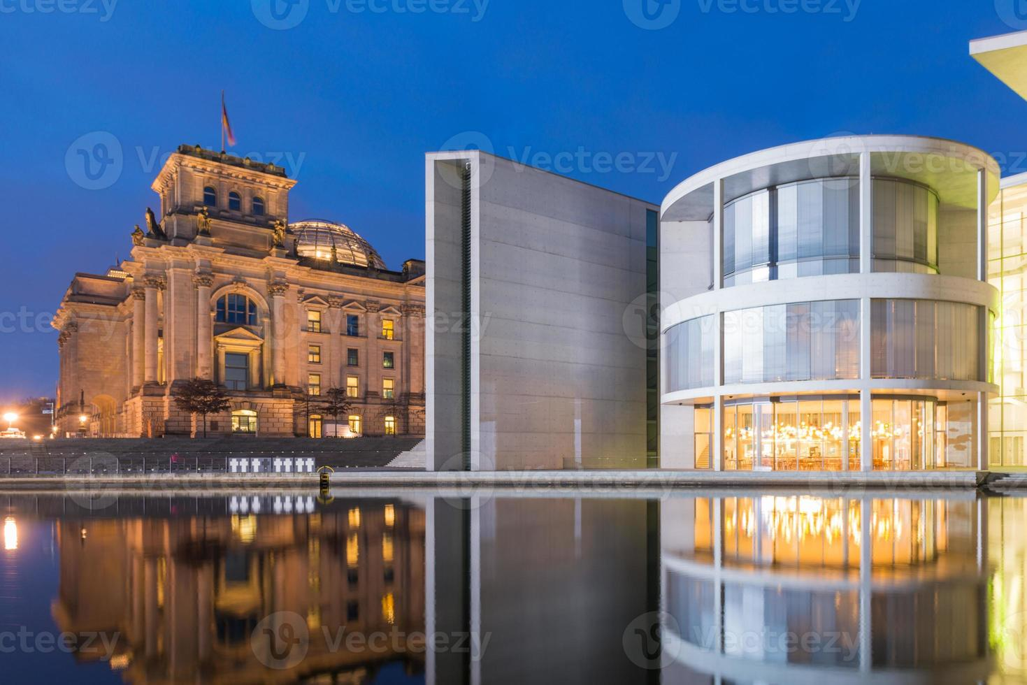 Berlin Reichstag and Paul-Löbe Haus photo