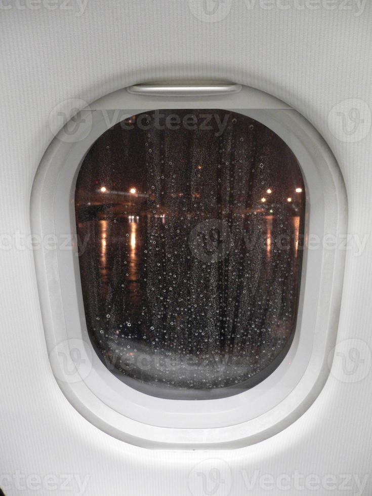 Window rain photo