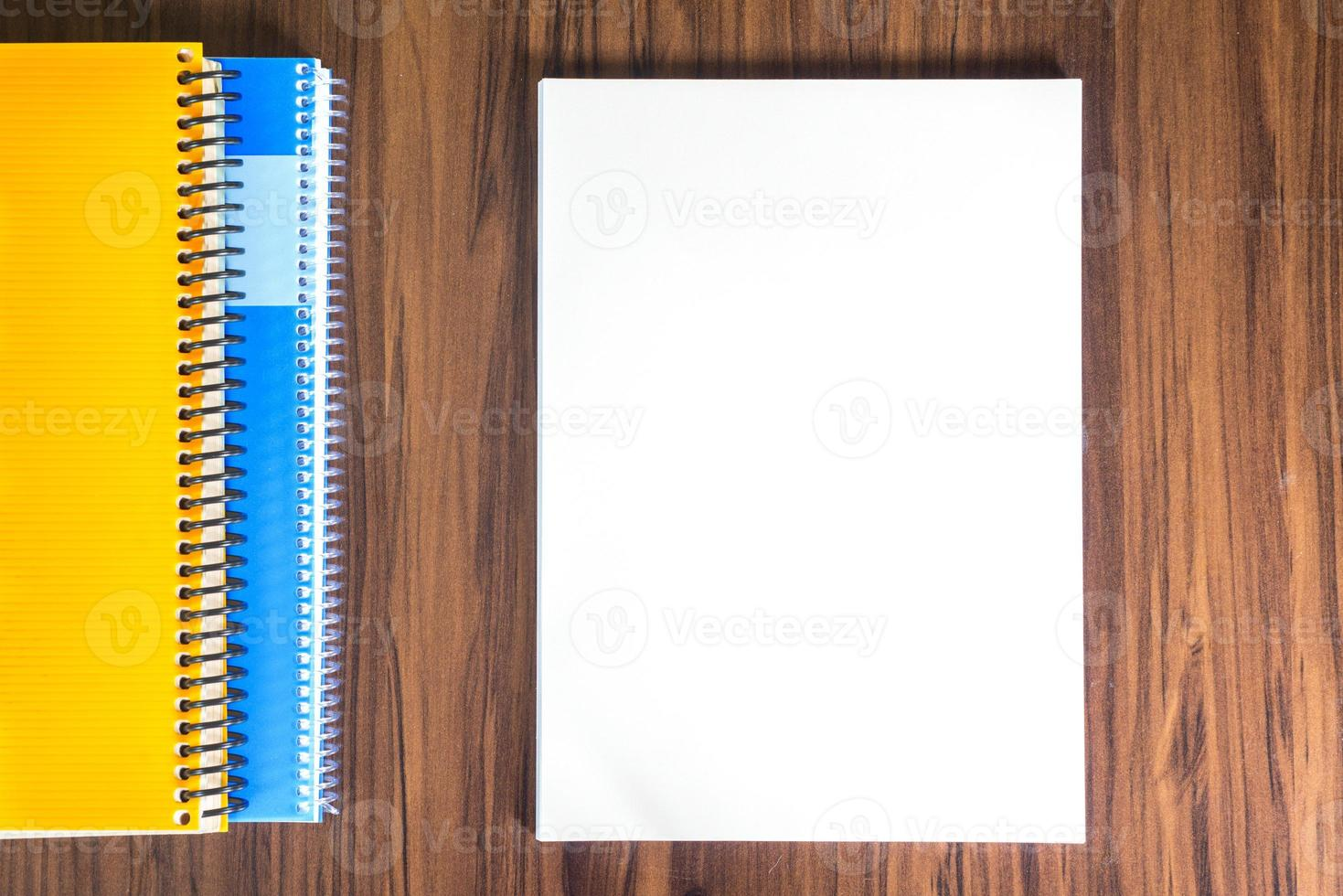 Page on a desk photo
