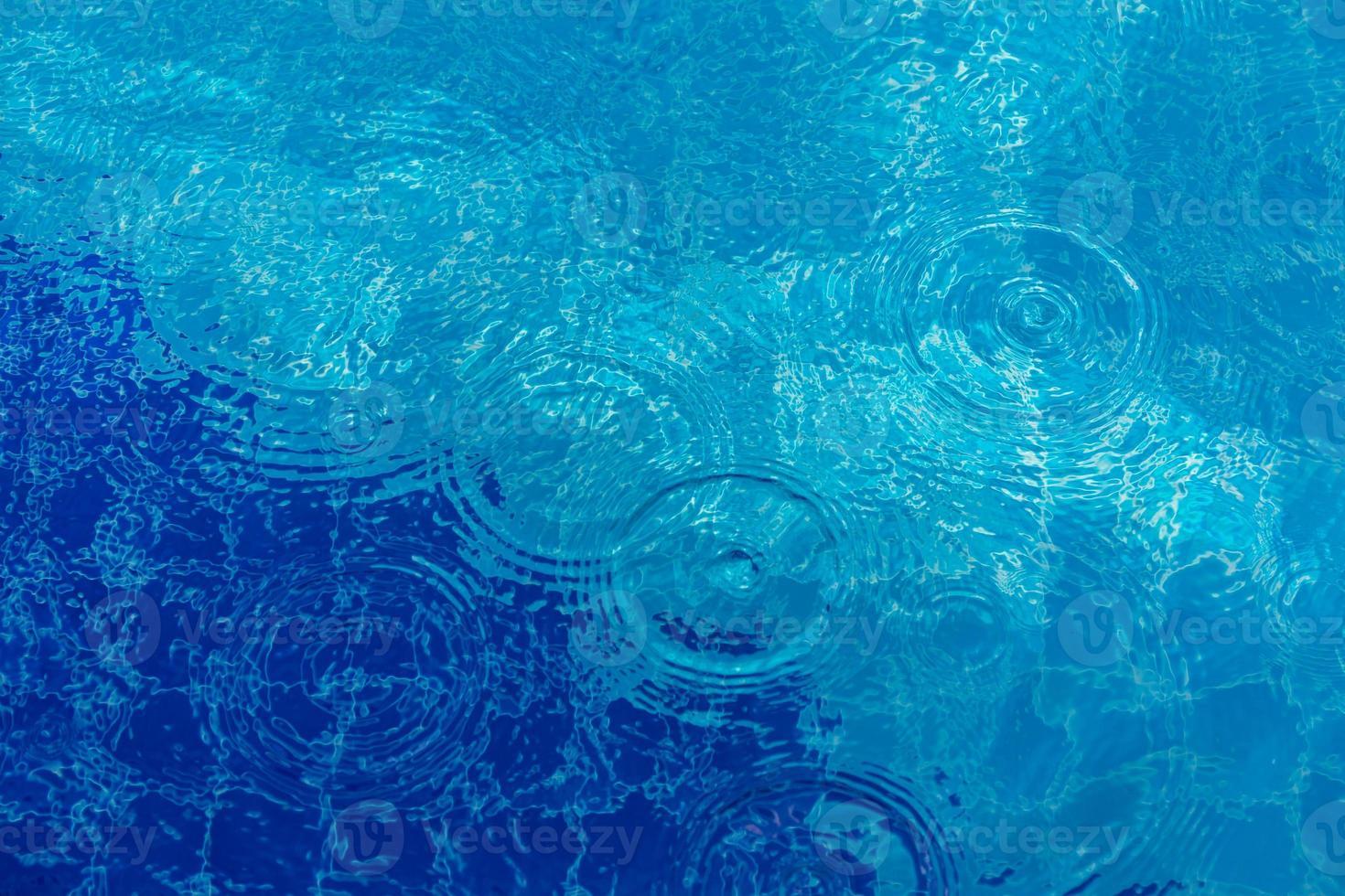 Fondo de ondulación de gota de agua foto