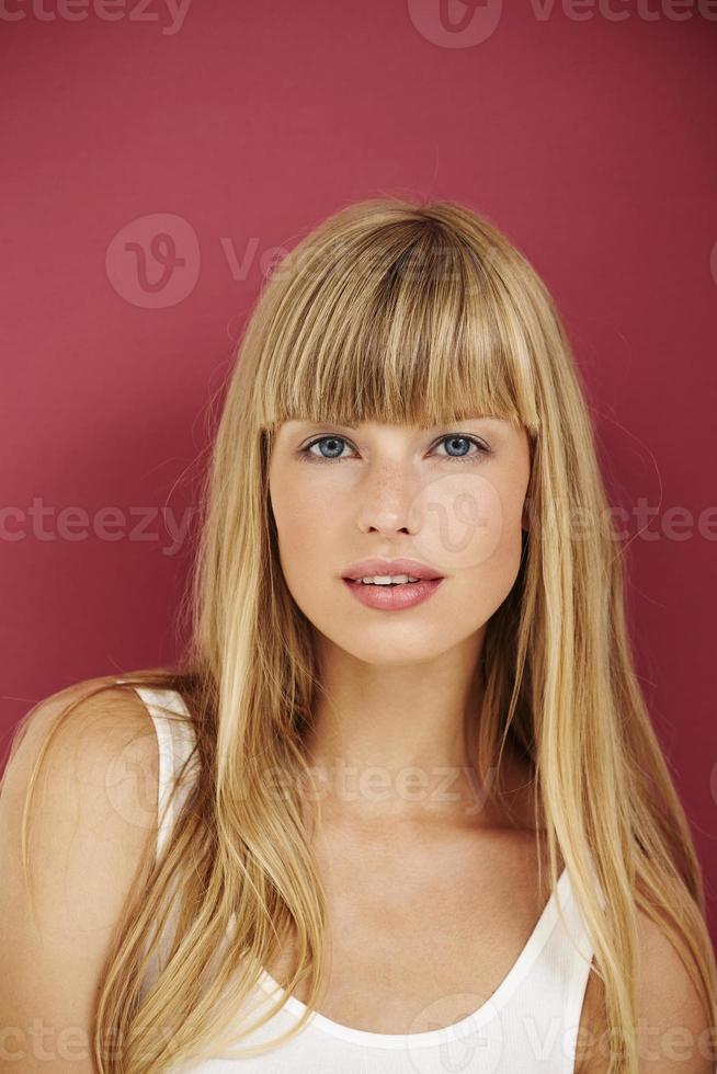 joven belleza perfecta foto