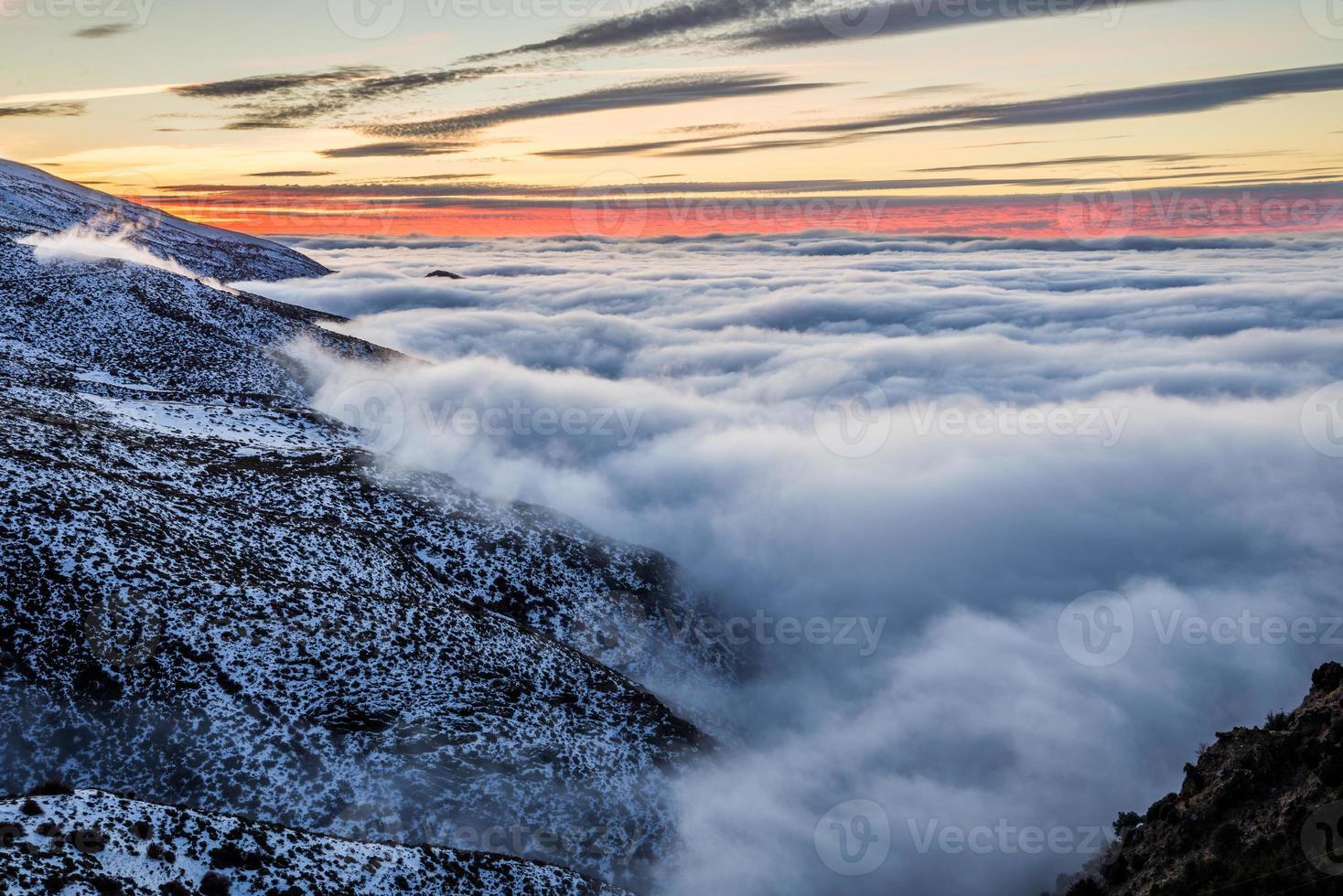 montaña de sierra nevada, españa foto