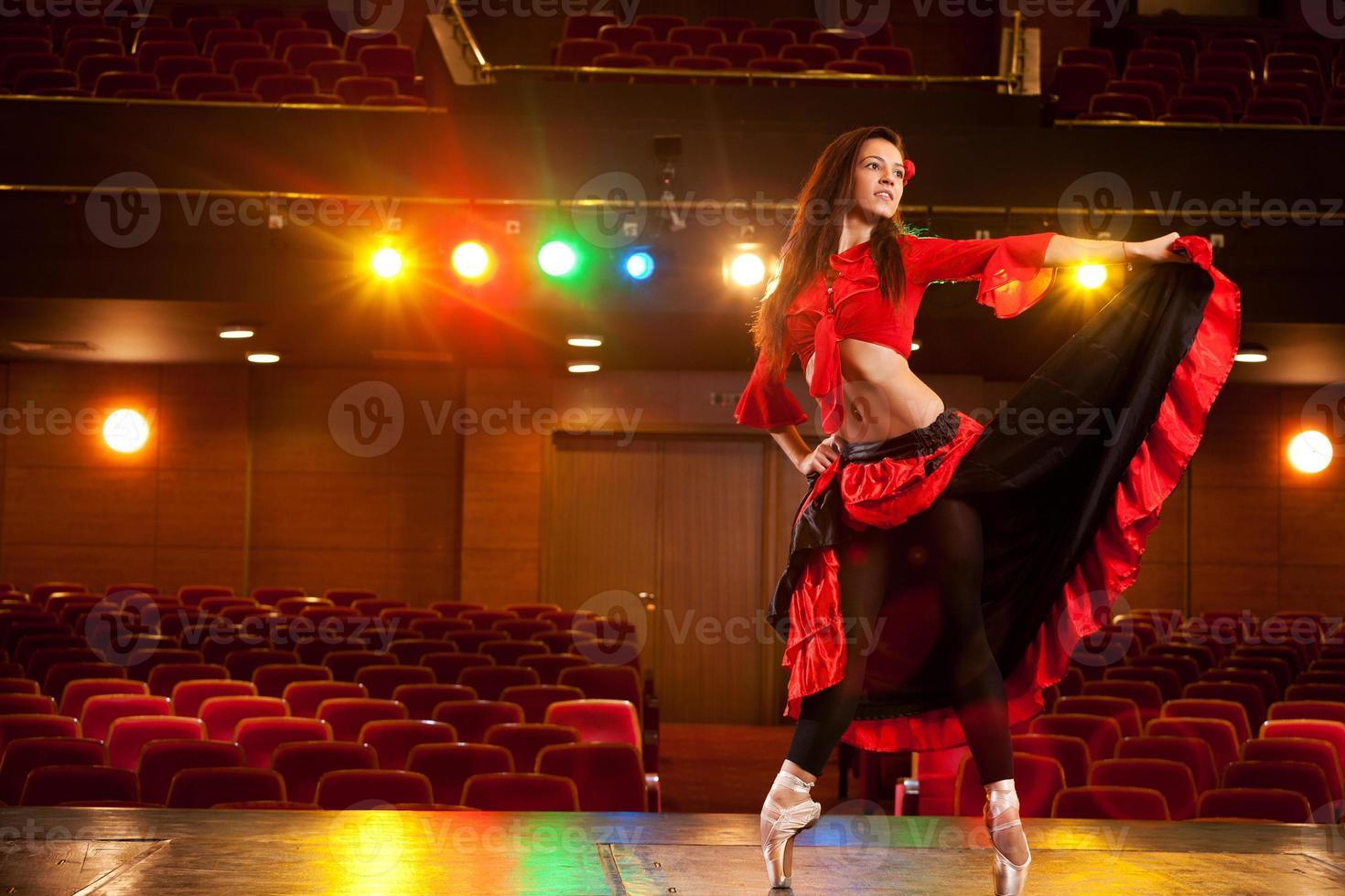 bailarina gracia foto