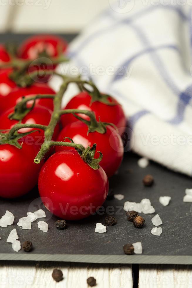 tomates y sal foto