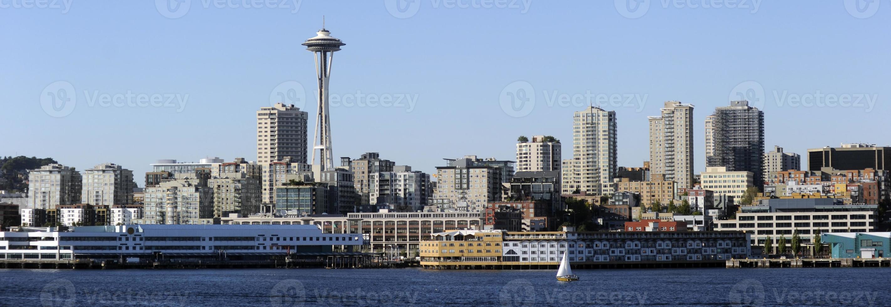 Seattle, wa horizonte foto
