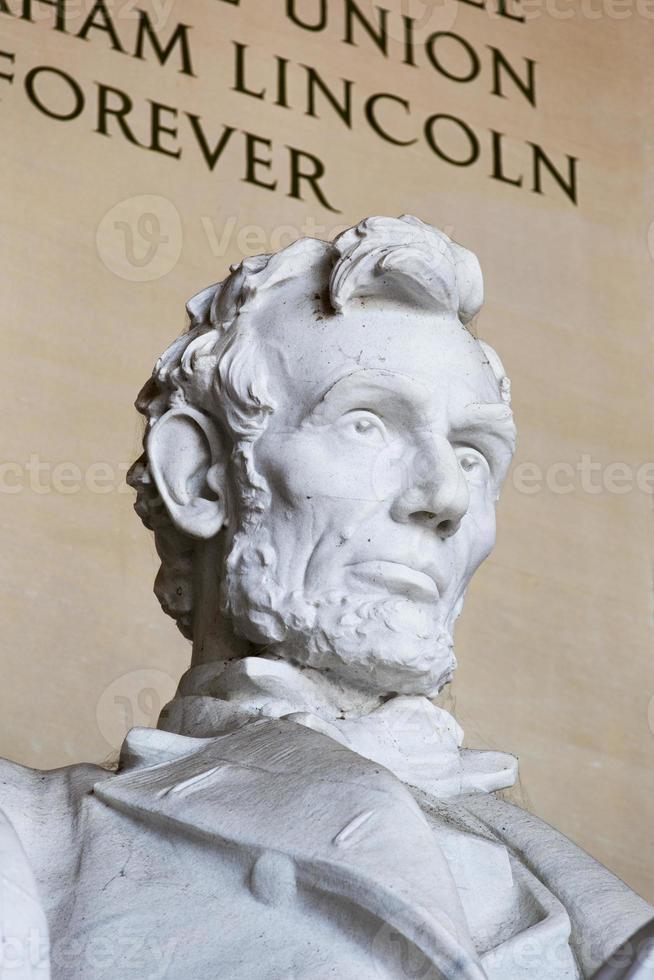 estatua de abraham lincoln foto