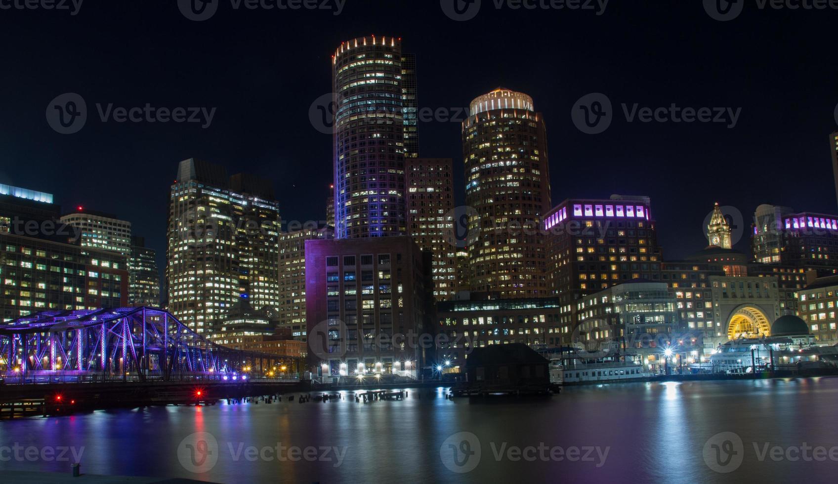 horizonte de boston foto