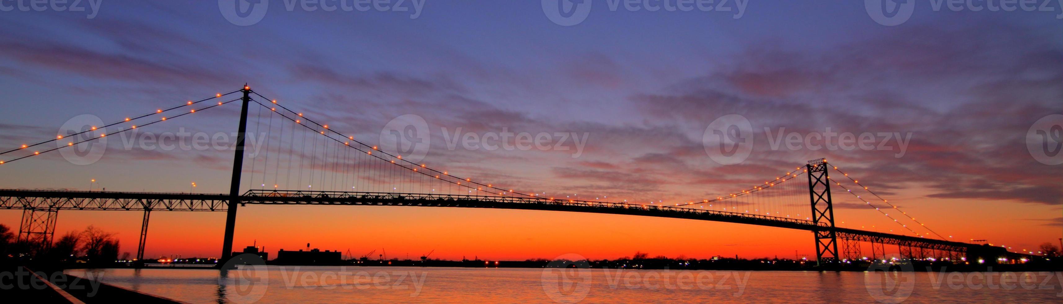 Bridge at Dusk photo