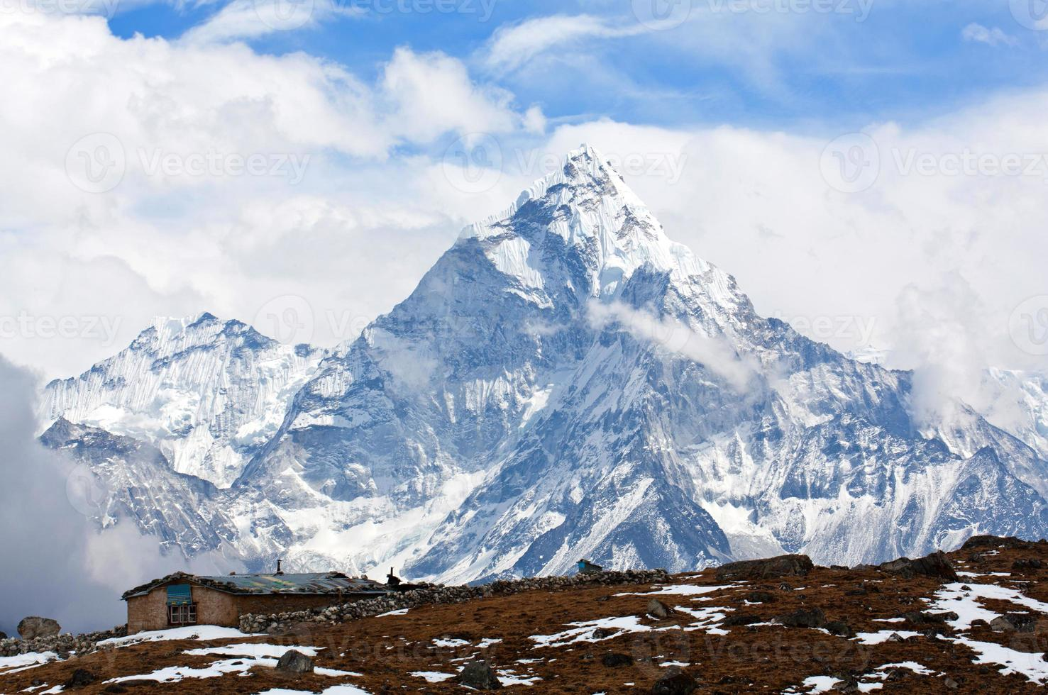 Ama Dablam Mount, Nepal photo
