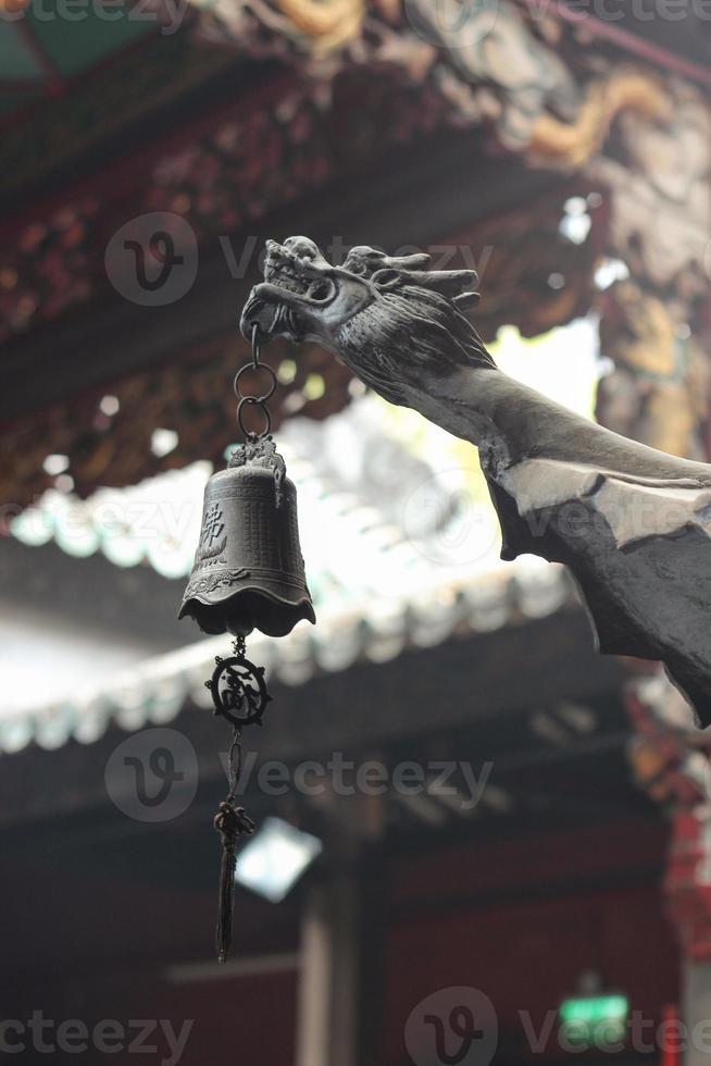 gragon chino en el templo a-ma foto