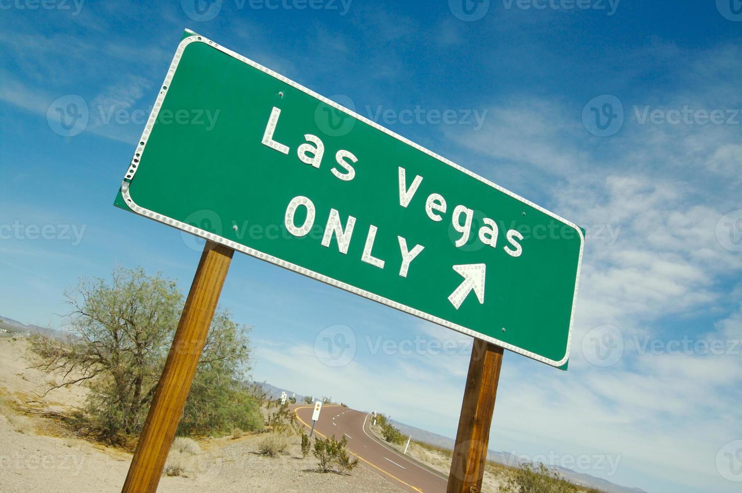 Las Vegas Sign Pointing to Fun - 3 photo